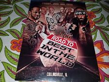 ROH Road to Best in the World Colinsville 6/3/16 DVD Ring of Honor The Addiction