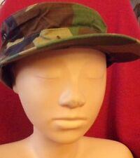 "U.S. Military Camouflage Uniform Cap (Hot Weather) Size 7 1/4"""