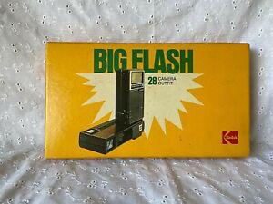 Kodak Big Flash 28 Camera Ektron II Electronic Flash w/ Trimlite Instamatic  :