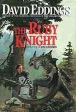 DAVID EDDINGS THE RUBY KNIGHT BOOK 2 THE ELENIUM HARDCOVER 1991 1ST EDITION NEW