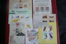 More details for 8 macau miniature sheets  perfect mnh  issues as shown