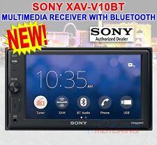 SONY XAV-V10BT MULTIMEDIA PLAYER RADIO BLUETOOTH USB MP3 WMA MPEG4 55 W X4 MAX