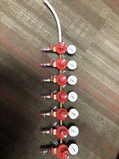 Micromatic 7 Gauge 60 Pressure Bar Beer Brewery With Valves