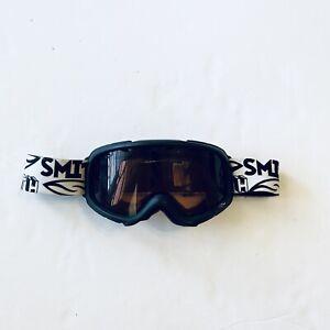 Smith Optics GM3EBK10 Gambler Goggle Black Frame/RC36 Lens Youth Small Fit