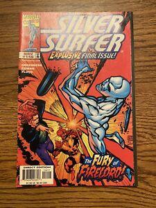 Silver Surfer #146 Fine+ HTF Low Print Final Issue 1998 Marvel Comics