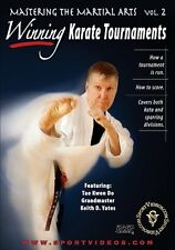 Mastering The Martial Arts Vol. 2 - Karate - Tae Kwon Do - Sparring - DVD
