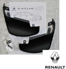 New Genuine Renault Kadjar Rear Mudflaps Mudguards Splashguards 8201452077