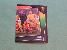 N°178 EQUIPE TEAM SUEDE SVERIGE PANINI FOOTBALL UEFA EURO 2004 PORTUGAL