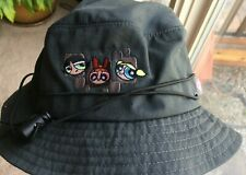 Powerpuff Girls bucket hat cap Cartoon Network navy blue NWOT!!