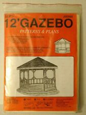 Jer's Pattern Projects J00888/U00888 12' Gazebo Plans