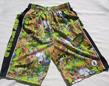 Nwt Flow Society Youth Small Lax Green/300 Flow World Lacrosse Shorts Ykh32022