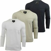 Mens V Neck Jumper by Dissident 'Temps' Long Sleeved