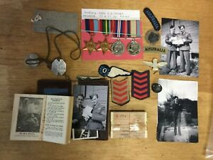 WW2 R.A.A.F. Navigators medal group + badges etc.