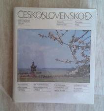 CESKOSLOVENSKO. Obrazy zeme i dejin. Panorama. 1989. 5 langues.