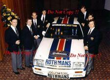 Henri Toivonen & Walter Rohrl & Jimmy McRae Opel Ascona 400 1982 Photograph 2