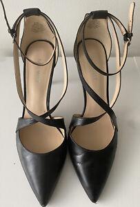 Nine West Women's Elisa in Black Heels Size 8.5