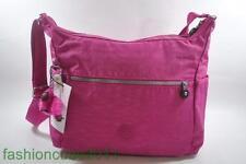 New With Tag Kipling ALENYA Shoulder CrossBody Hobo Bag HB6628 485 - Very Berry