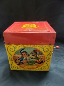 1950's Mattel Jack in the Box