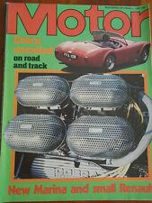 Motor 23/9/78 Mini 1275 GT, AC Cobra