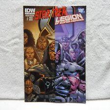 STAR TREK LEGION OF SUPER-HEROES #3 DECEMBER 2011 FIRST PRINTING IDW & DC