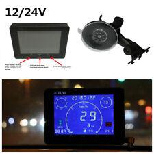 Car GPS Signal Speedometer+Odometer Gauge+Voltmeter Gauge+Time Hour Meter 12/24V