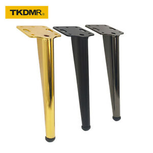 4 pcs of furniture legs metal support feet 18cm with mounting screw accessories