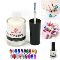1/2/5 PCS 8ml Nail Art Star Glue Adhesive For Nail Transfer Foil Sticker DIY Tip