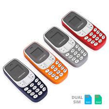 L8STAR BM10 Pocket MINI GSM smartphone Bluetooth Dialer Cellulare MP3 Vari Color