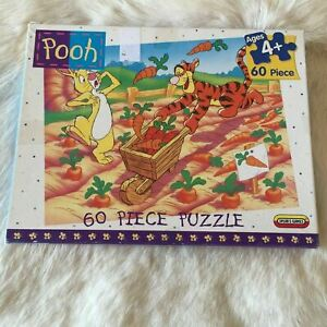 WINNIE THE POOH Jigsaw Puzzle 60 Piece MADE IN NZ Tigger RABBIT Easter Farming