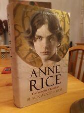 2002 First Edition Anne Rice The Vampire Chronicles Blackwood Farm