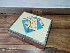 Ancien jeu de société le NAIN JAUNE vintage GARNIER Cornil Made in France toys