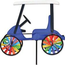 """17"""" GOLF CART Wind Spinner Garden Stake by Premier Kites & Designs Design"""