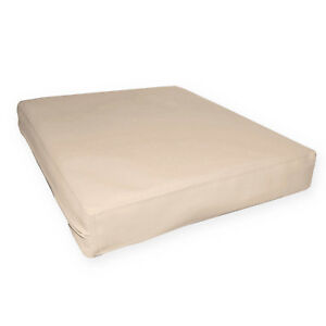 pa814t Khaki Water Proof Outdoor PVC 3D Box Sofa Seat Cushion Cover*Custom Size