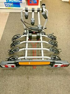 Witter ZX304 4 bike clamp on Towball mounted cycle carrier