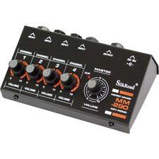 Silk Road MM-290 4ch MONO MICRO MIXER DJ Audio Mic Music Pro Sound Home Studio