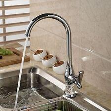 Senlesen Elegant Design Single Lever Kitchen Sink Mixer Tap Chrome Finish