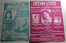 ♬ 1953 & 1959 ♬ DALIDA ♬ Madona & Dream Lover ♬ 2 Partitions ♬