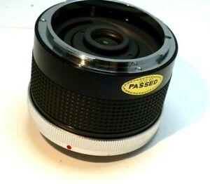 Kiron 2 X Matched Teleconverter lens for canon FD FL lenses tele-converter