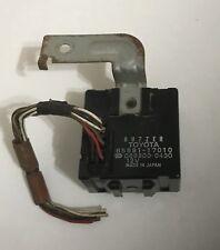 85-87 Toyota MR2 MK1 OEM seat belt warning relay buzzer # 85991-17010