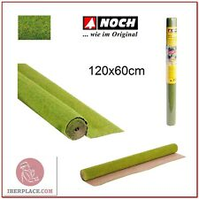 Z N H0 escala Noch 00270 Tapiz de hierba flores 120x60 cm modelismo maqueta
