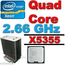 311-6944 - TX201  Intel X5355 processor and  Heatsink  CPUKit For DellPE 2900