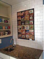 15 Tiles Mural Ceramic Art Decor Coffee Backsplash Bath Tile #14