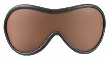 """Blindfold Shades of Brown Genuine Leather """"NEW"""""""