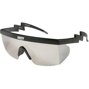 Neff Brodie Single Lens Shades Sunglasses Solid Matte Black New 2020