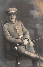 Offizier mit Albrechts Orden Ritterkreuz mit Schwertern und EK 2 Foto 1. WK