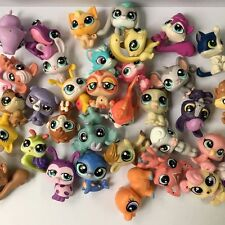 Random 5 PCS MINI Doll Littlest Pet Shop Dog Cat Child Girl Toys LPS GIFT HA365