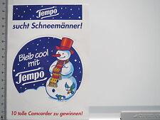Aufkleber Sticker Tempo Taschentücher - Papiertücher (5772)