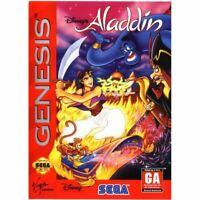 Disney's Aladdin - Sega Genesis Game *CLEAN VG