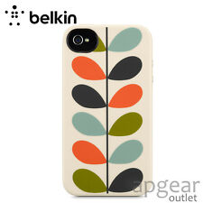 Genuine Belkin f8w356btc00 colore Design Pattern Custodia Cover iPhone 4 4s