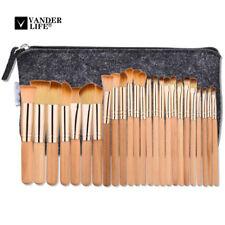 25PCS Rose Tube Makeup Brush Soft Eyebrow Shadow Fashion Makeup Brush Set